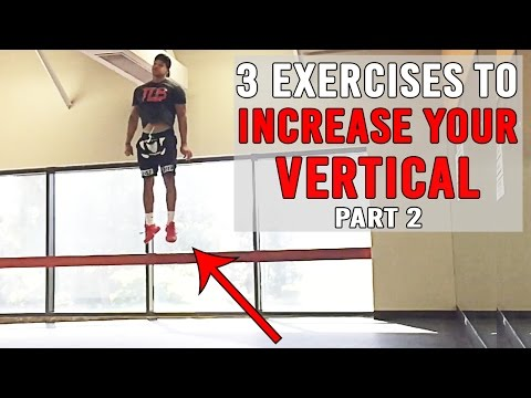 3 Exercises To INCREASE YOUR VERTICAL Pt.2  JUMP HIGHER