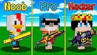 MINECRAFT: ARMA NOOB VS ARMA PRO VS ARMA HACKER 😱🔫