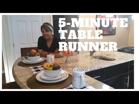 5-minute-table-runner-diy-||-how-to-make-a-no-sew-table-runner-||-tutorial-||-caron1310