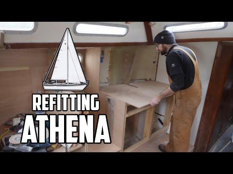 Sail Life - Athena's New Galley - DIY Sailboat Project