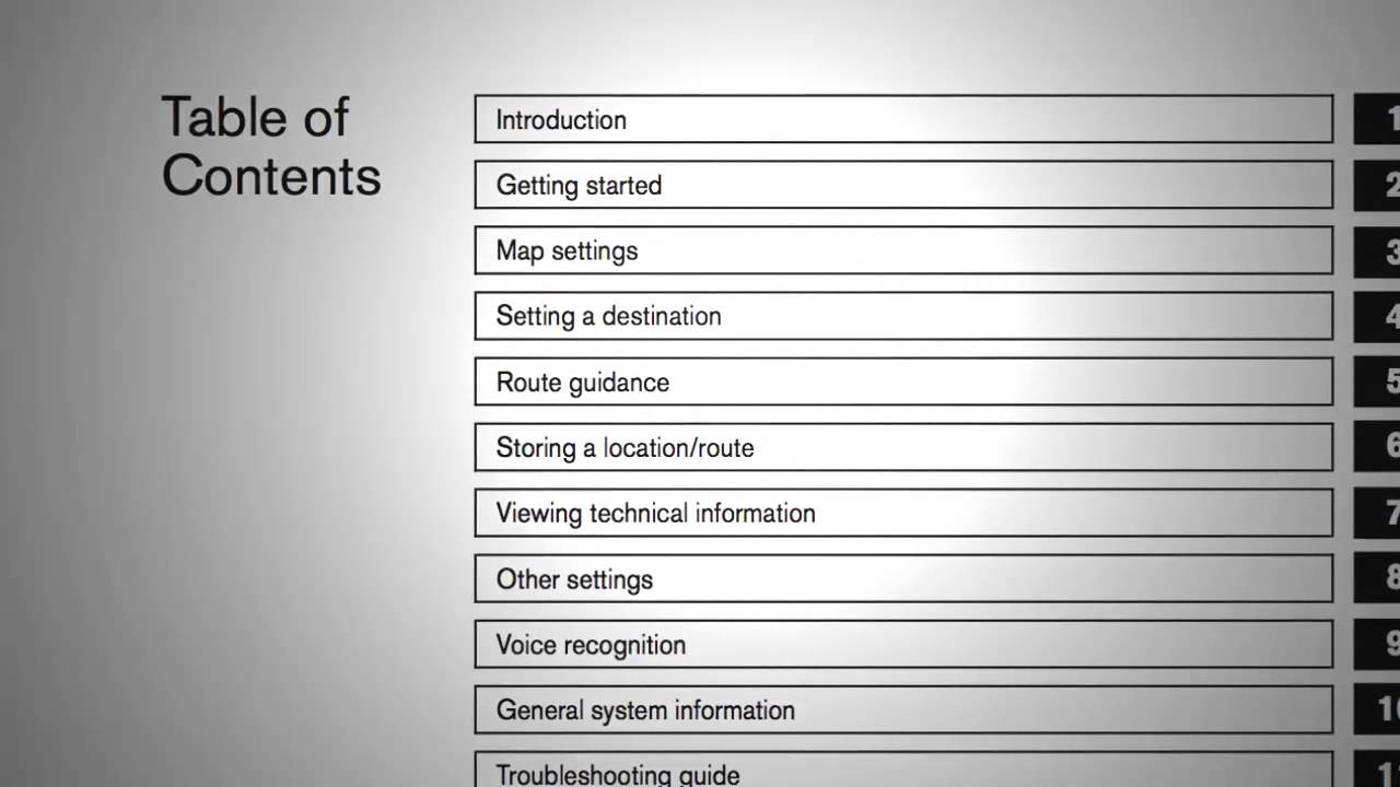 2014 Nissan Maxima  Navigation System Owner's Manual (if So Equipped)