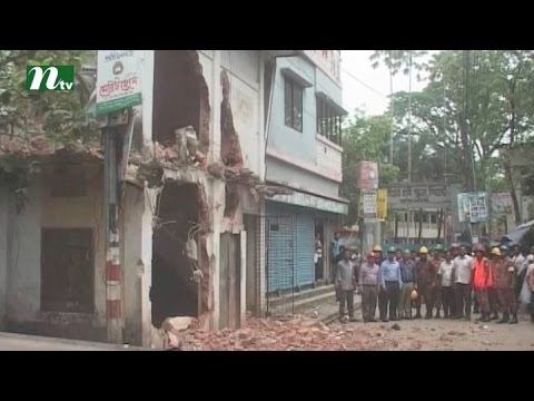 Eviction of risky buildings in Sylhet has been started | News & Current Affairs