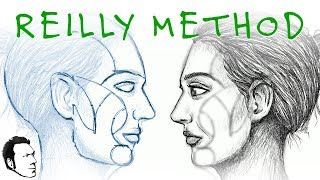 The Reilly Method of Drawing the Face (Side View)