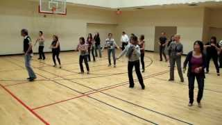 old time rock and roll line dance