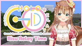 【#holoIDServerGORelay】WELCOME TO HOLOID MINECRAFT SERVER OPENING RELAY !!!【Ayunda Risu】