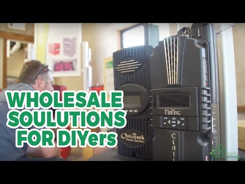 DIY and Wholesale Alternative Energy Solutions