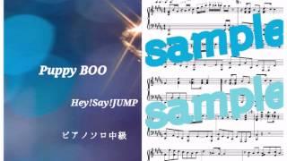 Hey! Say! JUMP/Puppy BOO Piano DEMO
