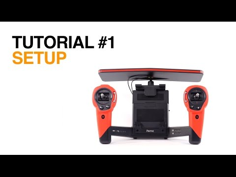 Parrot Skycontroller - Tutorial #1 - Setup - YouTube