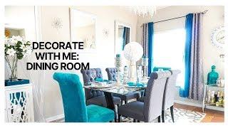 BUDGET FRIENDLY DINING ROOM - Glam dining room decor