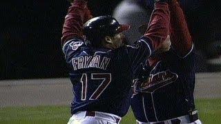 1999 ALDS Gm1: Fryman hits walk-off single