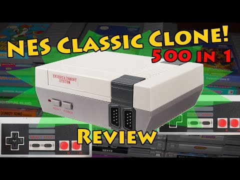 NES Classic for Less than $25?? Clone Review - Unboxing of Nintendo Mini Classic Chinese Bootleg