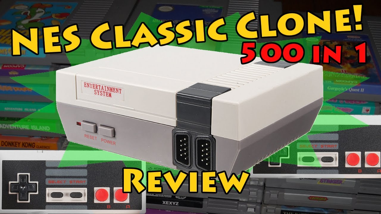 Nes Classic For Less Than 25 Clone Review Unboxing Of Nintendo