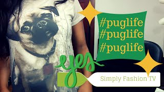 Pug Shirt Of Awesomeness From Yizzam.com