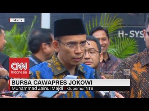 TGB Bersyukur Namanya Masuk Daftar Pertimbangan Cawapres Jokowi