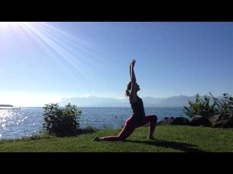 Toes in the Grass - 5 minute gentle sunrise yoga with Georgina Peard