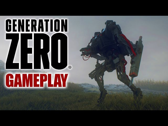BUNKER, ANCIENT RUINS & DEADLY BOTS | Generation Zero (15)