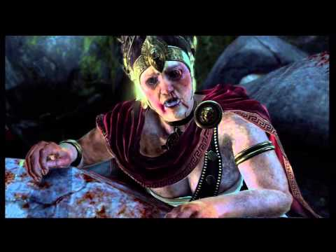 "God of War: Ascension - Chap 13 Passage to Delphi: Oracle Aletheia Death Scene, ""Seek the Truth"" PS3"