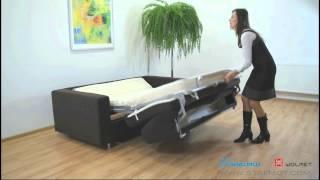 Механизм раскладушка в диванах: французская, американская (фото и видео)