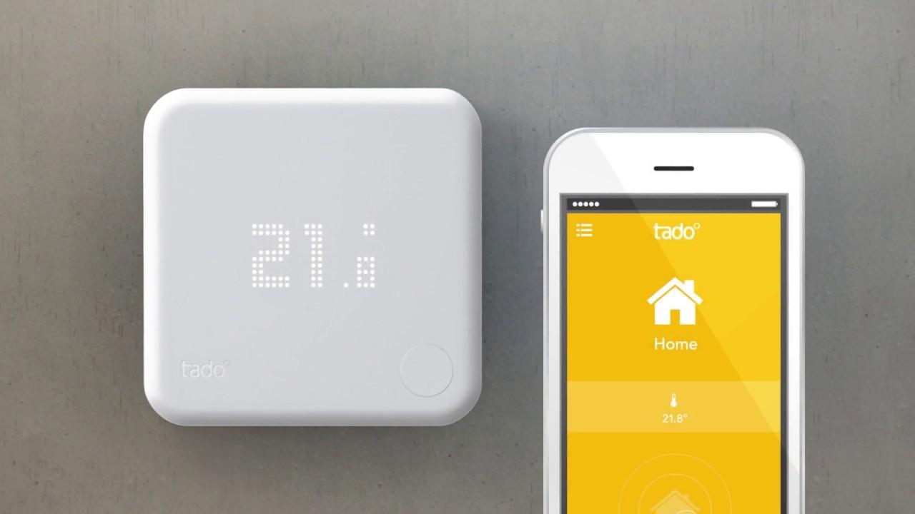 e on tado smart thermostat youtube. Black Bedroom Furniture Sets. Home Design Ideas