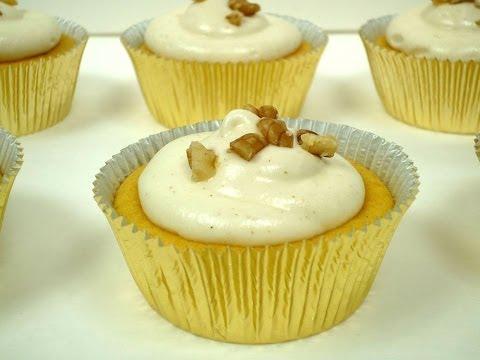 Süßkartoffel Cupcakes (Sweet Potato Cupcakes)