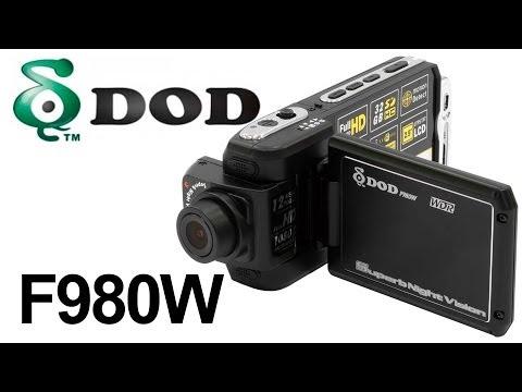 DOD F980W — видеорегистратор — видео обзор 130.com.ua