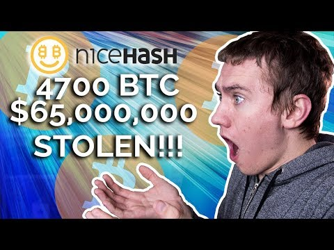 $65,000,000 of BITCOIN STOLEN!!! - NiceHash Hack Update