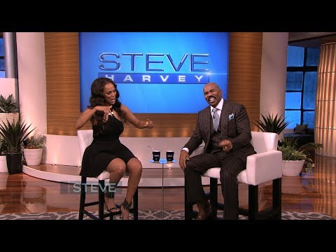 Steve Harvey - Tyra raps about her secret date with Drake