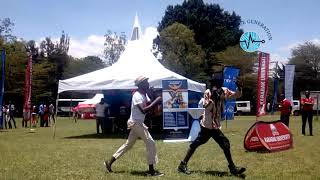 DAILY NATION - My Network Career Fair - Rift Valley Edition - THE DUO fron Jichanue Generation