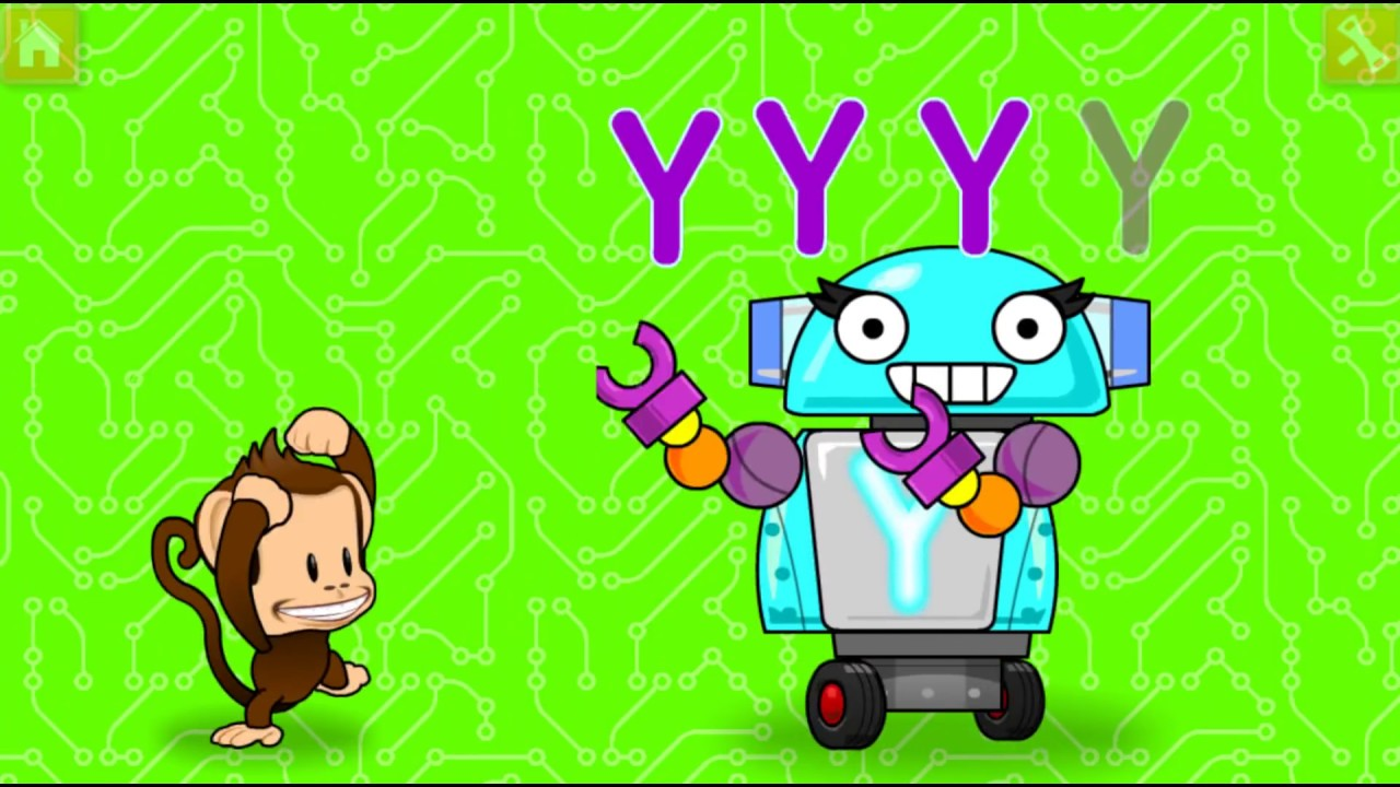 Kids Learn Colors Letters Numbers with Monkey Preschool Fix-It - Fun ...