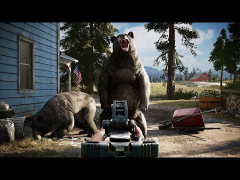 Far Cry 5 PS4 Pro 4K 60 fps Preview Gameplay Walkthrough