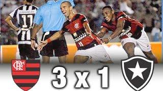 Flamengo 3 x 1 Botafogo * Final Carioca 2008 * Melhores Momentos