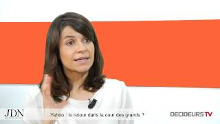 """Yahoo veut revenir dans """"le search"""" ! Brigitte Cantaloube, Yahoo!"""