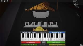Megalovania (undertale) au piano sur Roblox :3