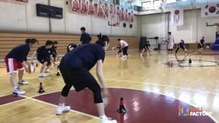 스킬팩토리 - Team Skill Training (KEB하나은행 여자농구단)