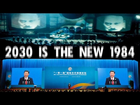 2030 is the new 1984 GLOBALIST NWO AGENDA Orwell's Nineteen Eighty Four New World Order AGENDA 21