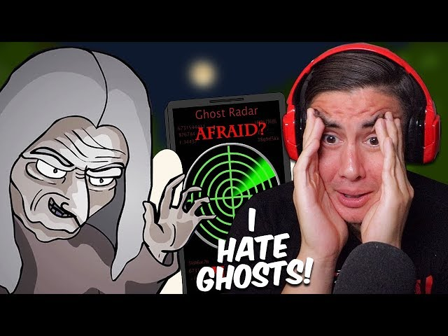 Reacting To Scary Animations Of Terrifying Ghost Experiences (Good luck sleeping Tonight)