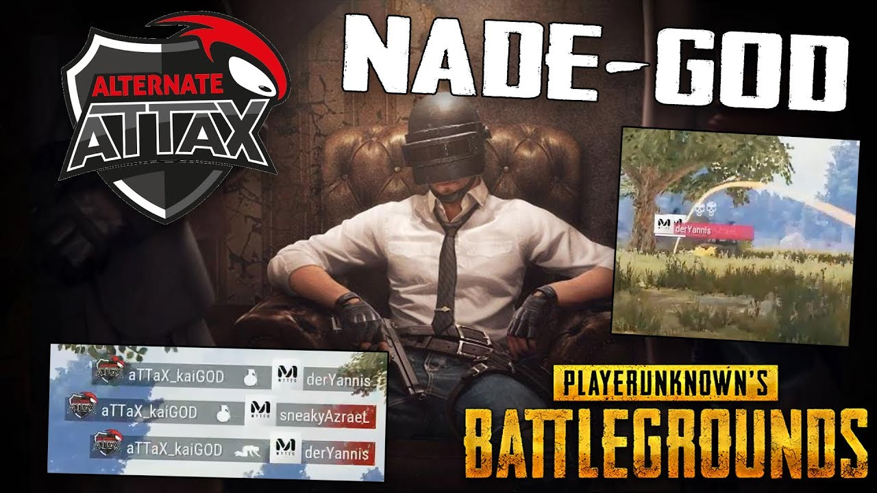 PUBG - Der ESL NADE-GOD - Alternate Attax Kaigod eskaliert. Twitch Stream Highlight Gameplay German