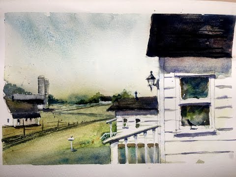 Artist's Essential Practice For Better Watercolour Paintngs - With Chris Petri