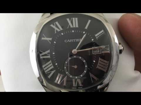 Cartier Drive - hands on and up close - look and feel on the wrist