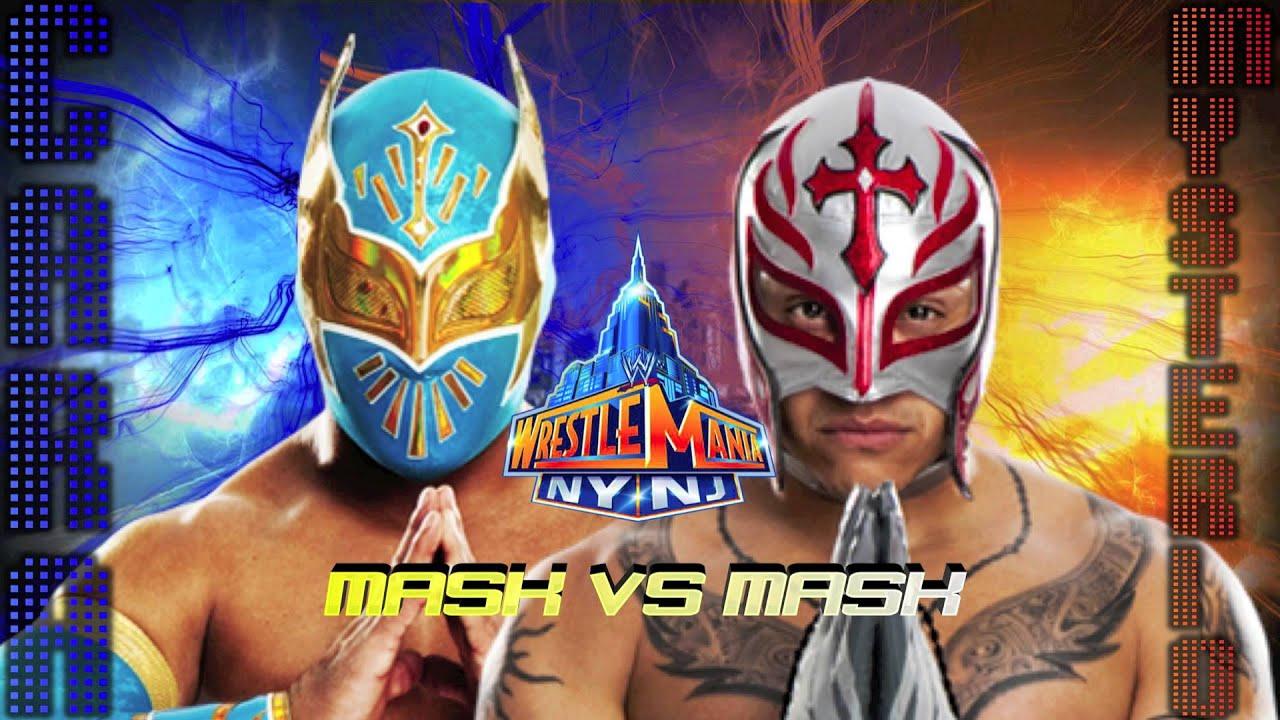 Wrestlemania 29- (Mask Vs Mask) Sin Cara Vs Rey Mysterio ...