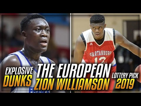 Meet The ZION WILLIAMSON Of EUROPE! | Lottery Pick In 2019 NBA Draft?