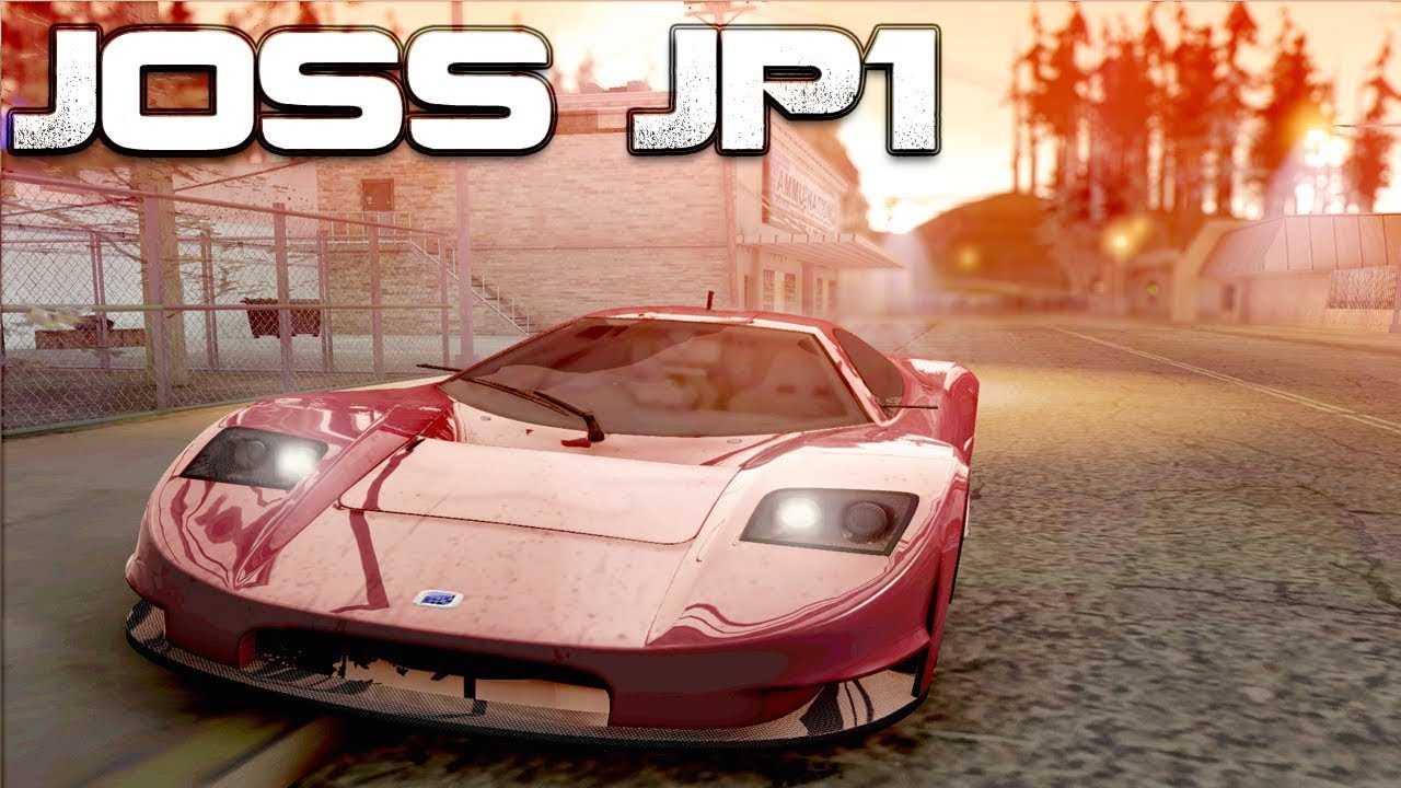 Gta San Andreas Mods Joss Supercar Download Youtube