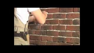 видео Монтаж искусственного облицовочного камня | Строительный справочник | материалы - конструкции - технологии