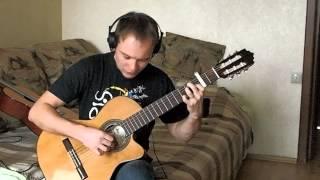 Беспечный ангел (Ария) на гитаре.  [Going To The Run] Фингерстайл