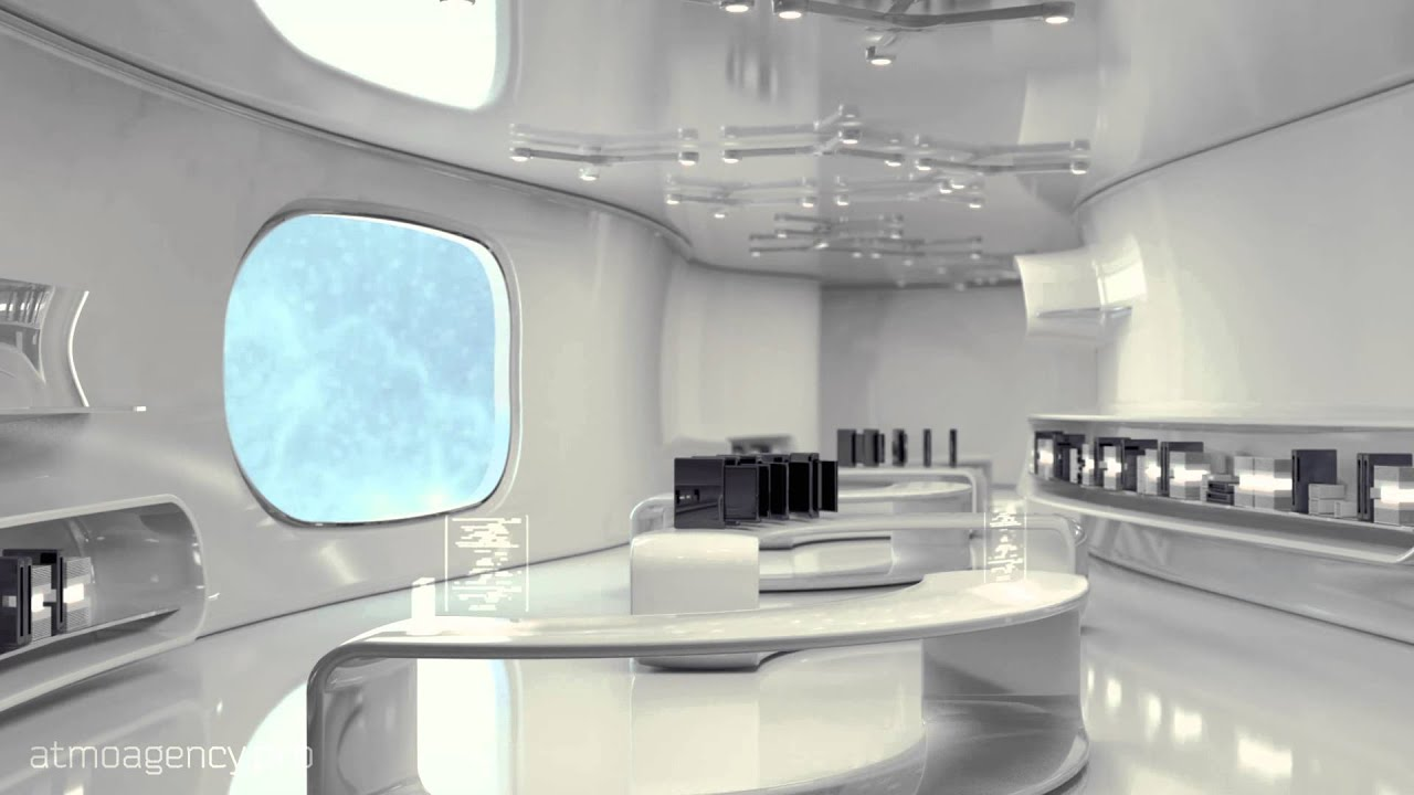 futuristic living room future room 10515