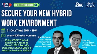 Secure Your New Hybrid Work Environment