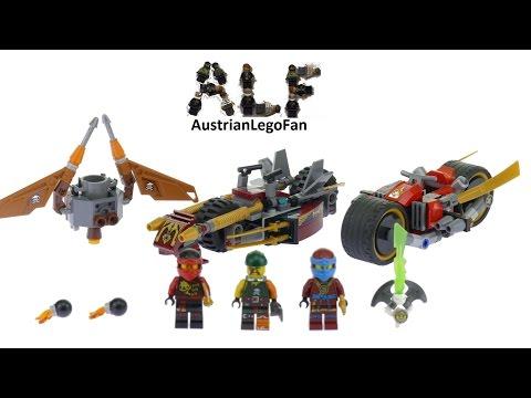 Lego Ninjago 70599 Cole´s Dragon - Lego Speed Build Review - YouTube