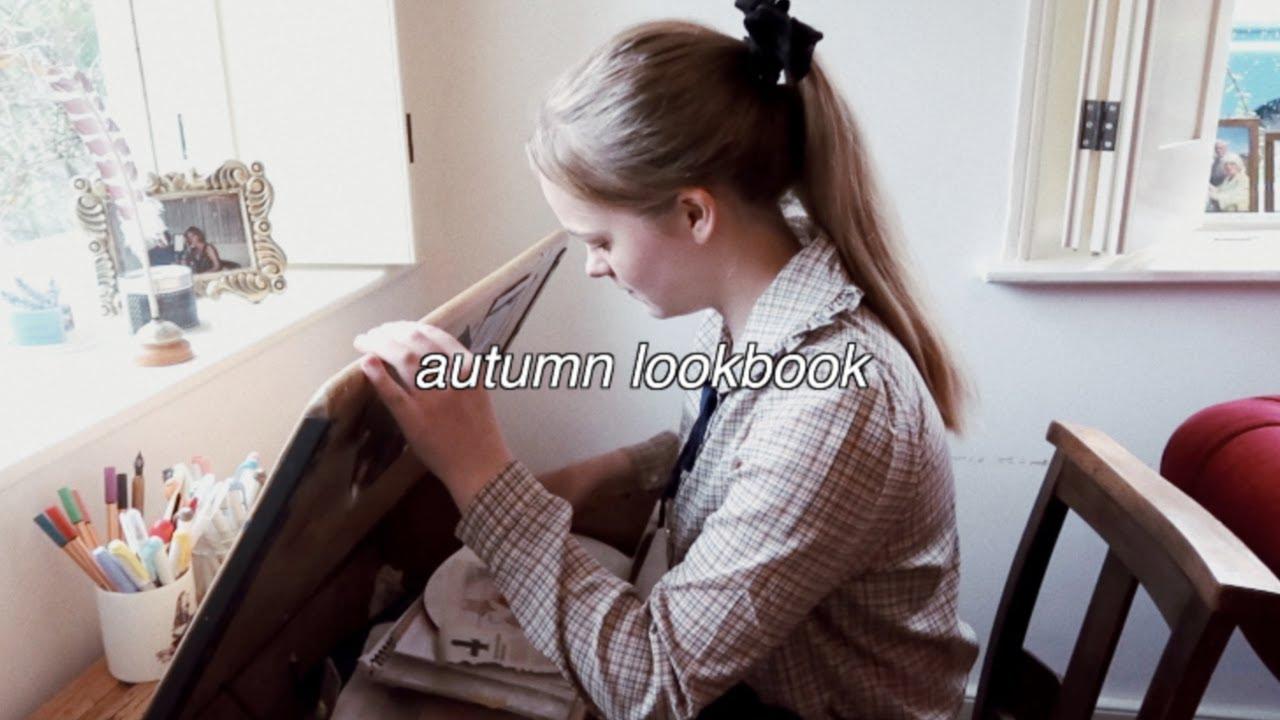 [VIDEO] - Studious Autumn Lookbook || vintage outfits 4
