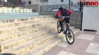 Tecnica de subida por escaleras