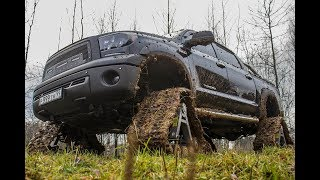 Toyota Tundra tracks by Wheeltracks (Russia)